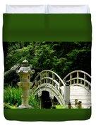 Virginia Bridges -japanese Garden Duvet Cover
