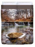 Walnut Creek Waterfall Duvet Cover