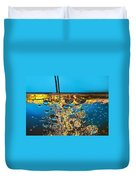 Water And Oil Duvet Cover