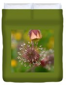 Water Avens Duvet Cover