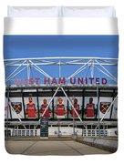 West Ham Fc Stadium London Duvet Cover