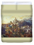 Westward The Course Of Empire Takes Its Way Duvet Cover