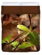 Whorled Pogonia Duvet Cover