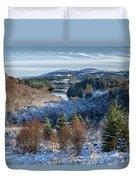 Winter Wonderland In Central Scotland Duvet Cover