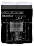 Wooden Water Tanks Duvet Cover
