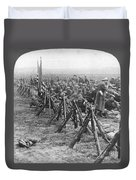 World War I: U.s. Troops Duvet Cover