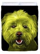 Yellow West Highland Terrier Mix - 8674 - Bb Duvet Cover