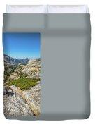Yosemite National Park Hiking Duvet Cover
