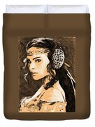 Episode 2 Star Wars Art Duvet Cover