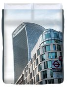 20 Fenchurch Street A Commercial Skyscraper In London Duvet Cover