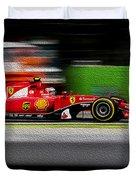 Ferrari Formula 1 Monza Duvet Cover