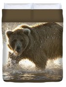 Grizzly Bear Ursus Arctos Horribilis Duvet Cover