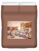 Of Clogs And Windmills Album Duvet Cover