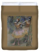 Two Dancers Duvet Cover