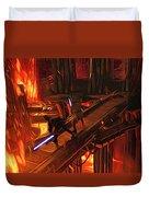Video Star Wars Art Duvet Cover