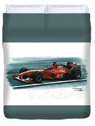 2000 Ferrari F1-2000 Duvet Cover