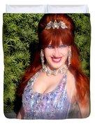 20000 Dollar Dress Of Sofia Metal Queen Duvet Cover