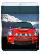 2004 S Mini Cooper Duvet Cover