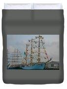 2004 Tall Ships Duvet Cover
