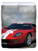 2006 Ford Gt40 Duvet Cover by Tim McCullough