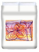 2007 Abstract Drawing 2 Duvet Cover