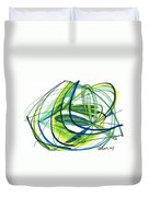 2007 Abstract Drawing 4 Duvet Cover
