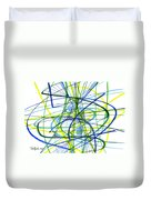 2007 Abstract Drawing 5 Duvet Cover