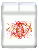 2007 Abstract Drawing 6 Duvet Cover