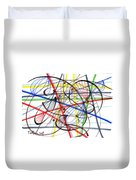 2007 Abstract Drawing 7 Duvet Cover