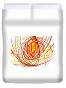 2007 Abstract Drawing 8 Duvet Cover