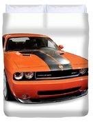 2008 Dodge Challenger Srt Muscle Car Duvet Cover