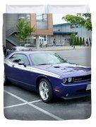 2010 Dodge Challenger Rt Lyster Duvet Cover