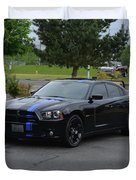 2011 Dodge Charger Rt Lopez Duvet Cover