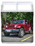 2011 Jeep Wrangler Duvet Cover