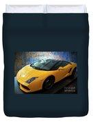 2011 Lamborghini Gallardo Lp560-4 Bicolore 2 Duvet Cover