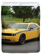 2012 Dodge Challenger Rt Clark Duvet Cover