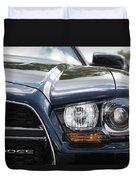 2012 Dodge Charger Duvet Cover