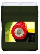 2012 Ferrari 458 Spider Brake Light Duvet Cover