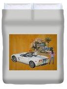 2013 Chevrolet Corvette Duvet Cover
