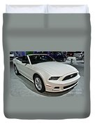 2013 Ford Mustang No 1 Duvet Cover
