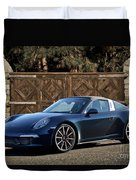2014 Porsche 911 Targa 4s I Duvet Cover