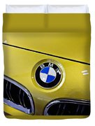 2015 Bmw M4 Hood Duvet Cover by Aaron Berg