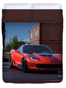 2015 Corvette Stingray  Duvet Cover