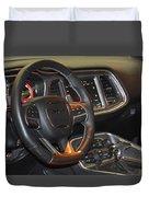 2015 Dodge Challenger Srt Hellcat Interior Duvet Cover