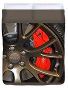 2015 Dodge Challenger Srt Hellcat Wheel Duvet Cover