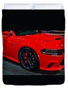 2015 Dodge Charger Srt Hellcat Duvet Cover
