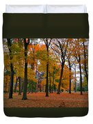 2015 Fall Colors - Washington Crossing State Park-1 Duvet Cover
