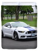 2015 Ford Mustang Gt James Tami Duvet Cover