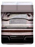 2015 Mclaren 650s Spider Rear Emblem -0011ac Duvet Cover