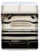 2015 Mclaren 650s Spider Rear Emblem -0011s Duvet Cover
